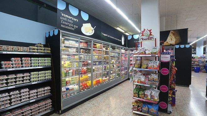 Interior Supermercado Caprabo