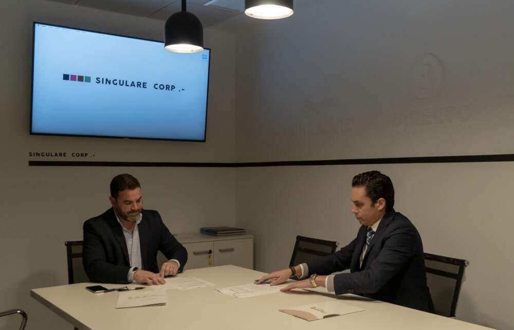 Mapesa y Singulare sellamos un acuerdo en materia de comunicación corporativa.