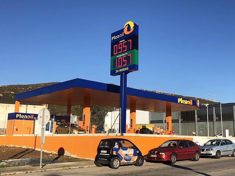 Mapesa interviene en la operación de expansión y apertura de una nueva gasolinera low cost Plenoil